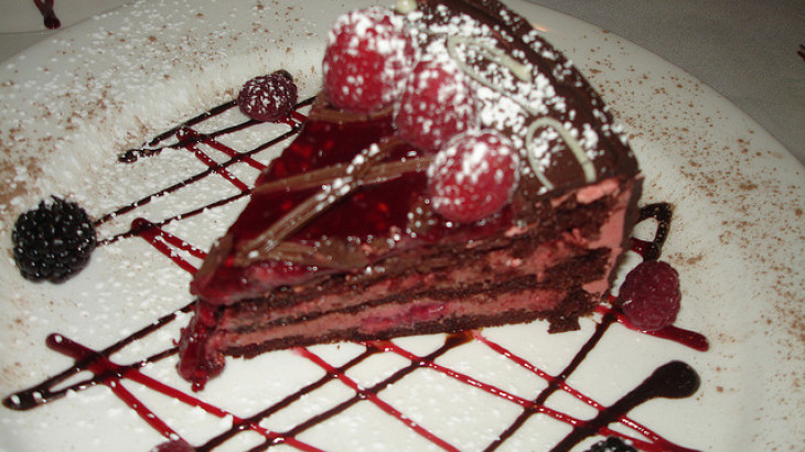Almond Raspberry Chocolate Torte