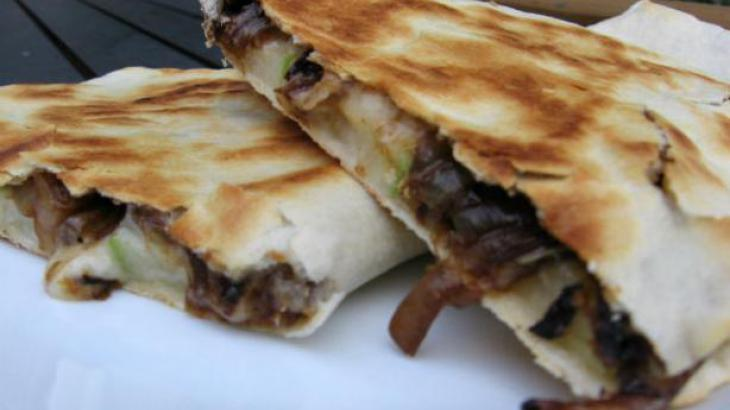 Apple Brie Quesadillas