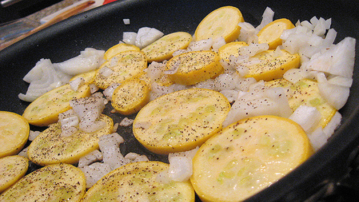 Bev's Sauteed Yellow Squash