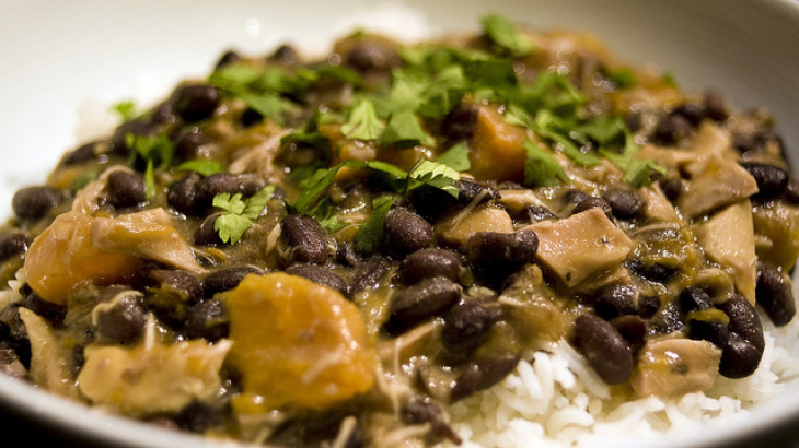 Black Bean Chicken Chili