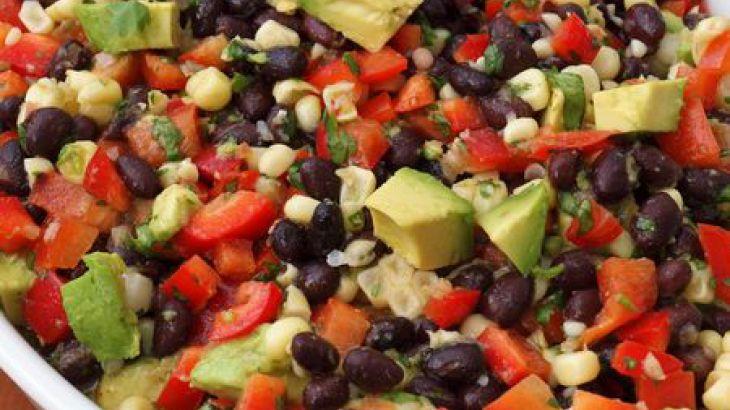 Sweet Corn and Black Bean Salad | Vegan Made Easy