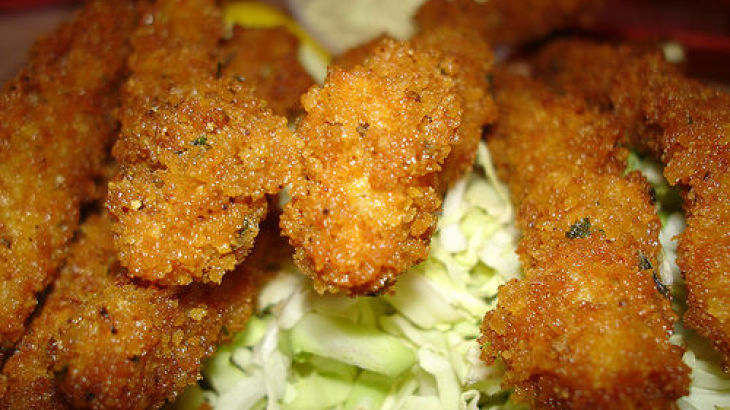 Breaded Calamari Steaks