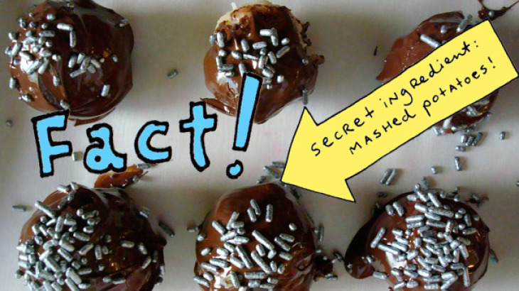 Cakespy: Chocolate Covered Potato Kisses