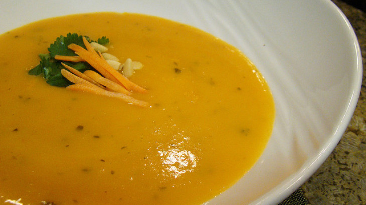 Carrot & Coriander (Cilantro) Soup