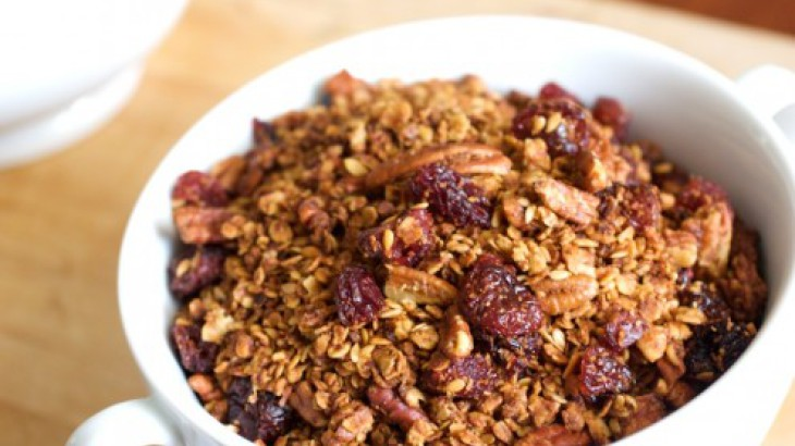 Cherry Pecan Granola