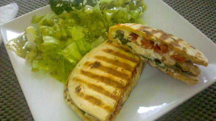 Chicken Pepper Panini