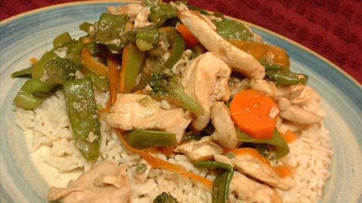 Chicken 'N' Vegetable Stir Fry