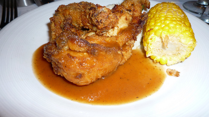 Chicken-fried Corn on the Cob