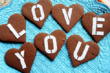 Easy and Delicious Chocolate Valentine Cookies Recipe by Makeeze ...