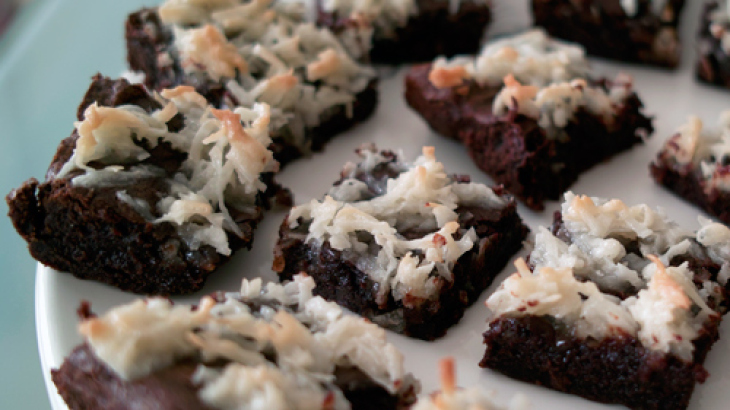 Coconut Brownie Bars