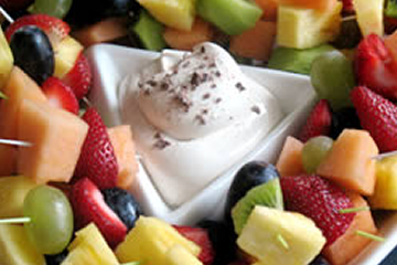 Easy and Delicious Coffee Flavored Fruit Dip Recipe by Makeeze Recipes