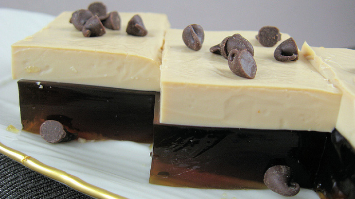Coffee & Baileys Jello Cubes