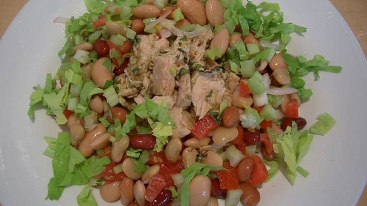 Cold 3 Bean Salad