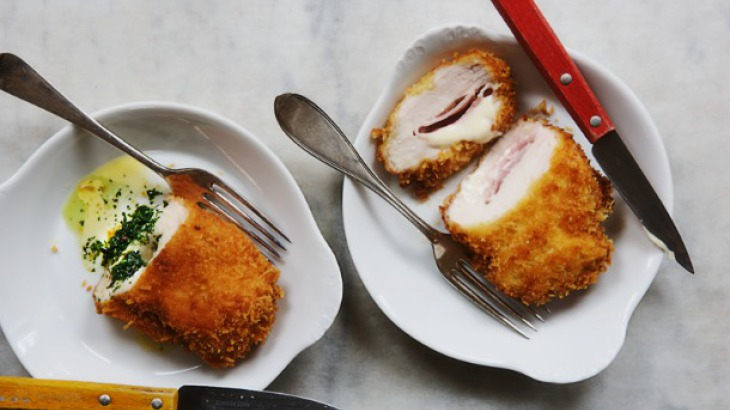 Cook the Book: Chicken Cordon Bleu