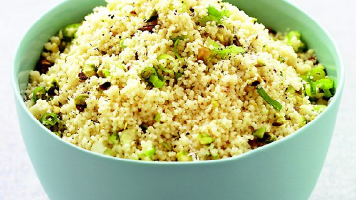 Couscous with Pistachios