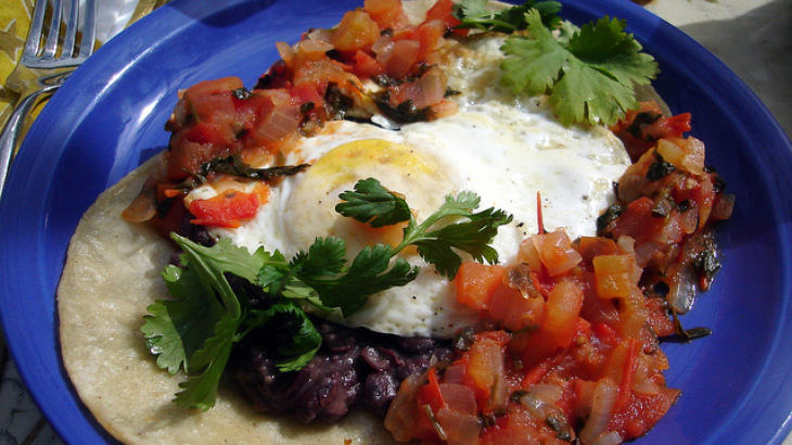 Crock Pot Huevos Rancheros (Mexican Ranch-Style Eggs) (Low Carb)
