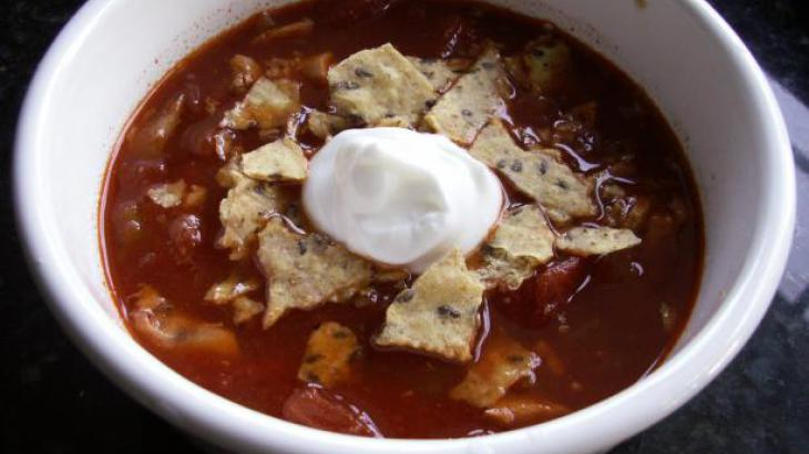 Crock Pot -Chicken Tortilla Soup