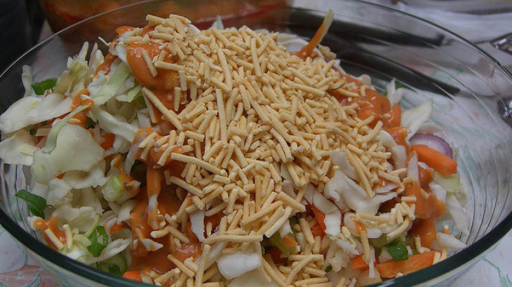 Crunchy Asian Coleslaw Salad