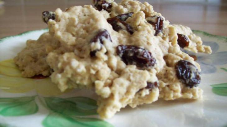 Diabetic Oatmeal-Raisin Cookies