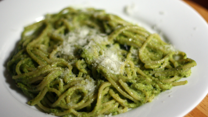 Dinner Tonight: Espagueti Verde