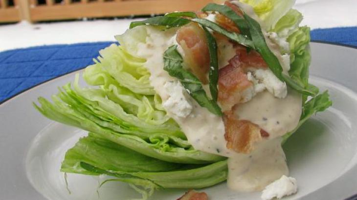 Easy Iceberg Wedge Salad
