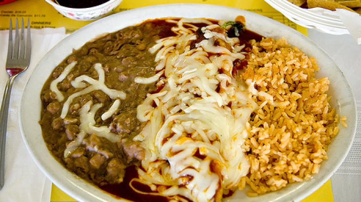 El Diablo (Chile Rellenos With Brown Rice)