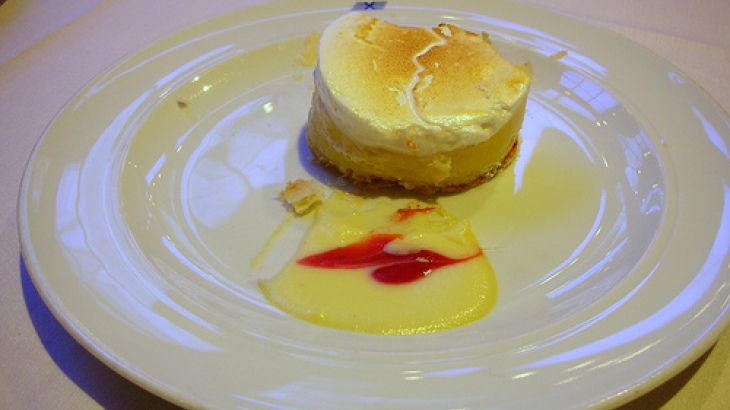 French Pear Flan