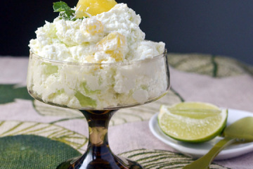Easy and Delicious Fresh Lime & Pineapple Fluff Recipe by Makeeze ...