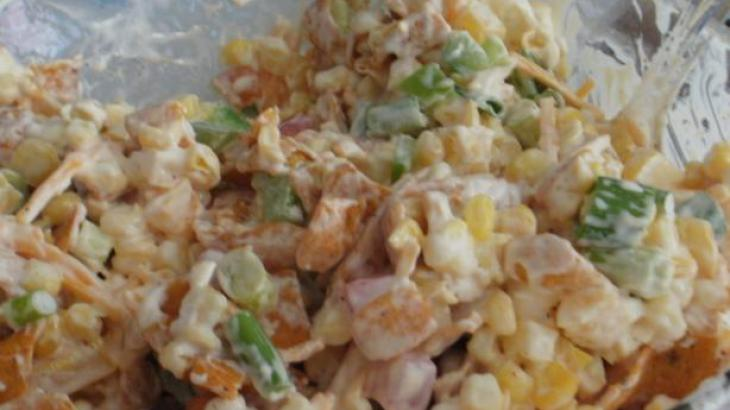 Corn Chip Salad Recipe http://www.yummly.com/recipe/Frito-Corn-Salad ...
