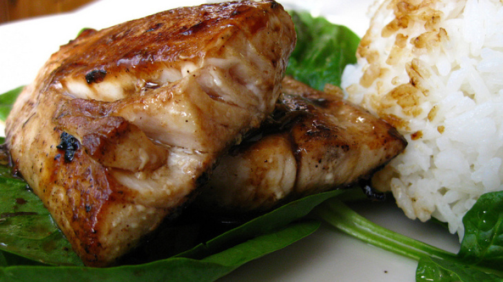 Ginger Glazed Mahi