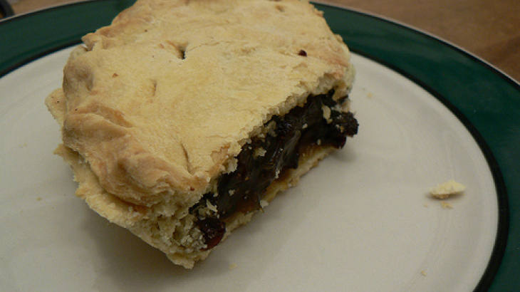 Grand Marnier Raisin Pie