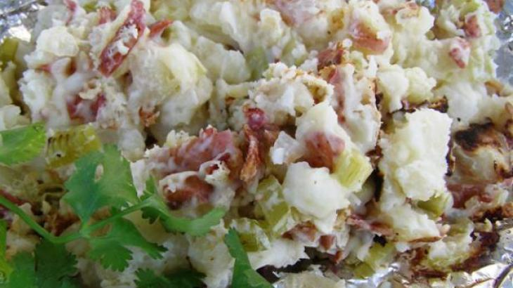 Grilled German Potato Salad
