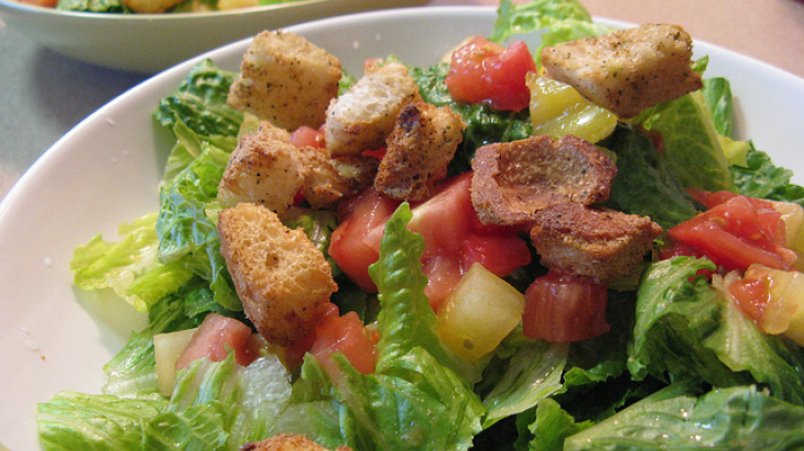 Hail Mighty Caesar Salad