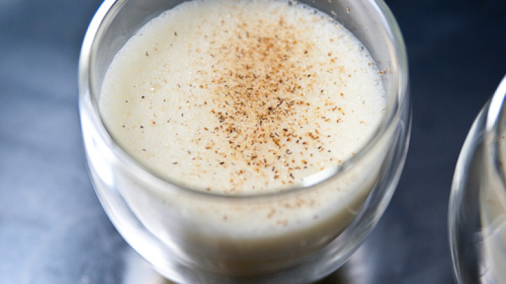 Hot Apple Eggnog