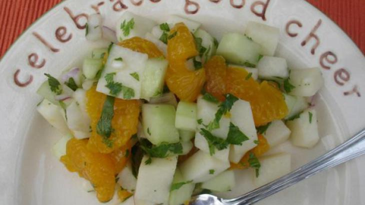 Jicama Salad With Cilantro and Chiles