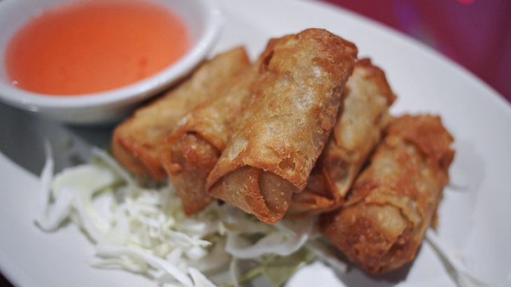 Joe's Mom's Egg Rolls
