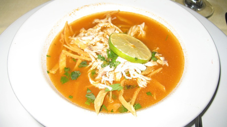 Lime Chicken Tortilla Soup