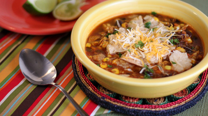 Linda's Special Chicken Tortilla Soup