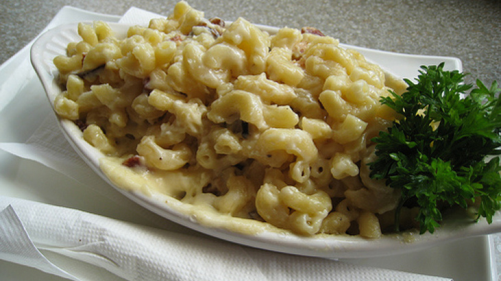 Low-Fat Mac and Cheese