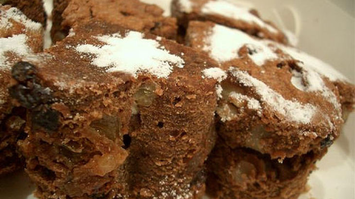 Low-Fat Moist and Chewy Brownies