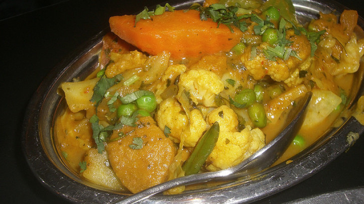 Madras Vegetable Curry (Vegetarian)