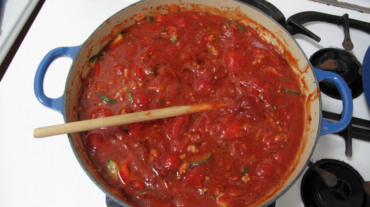 Mike's Fresh Tomato Pasta Sauce
