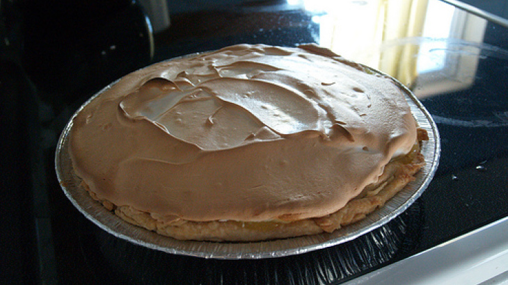 Mile High Lemon Meringue Pie
