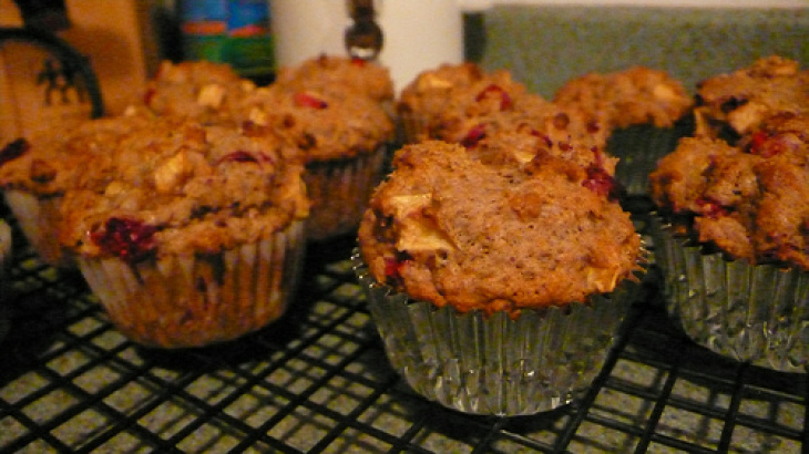 Oat & Cranberry Muffins