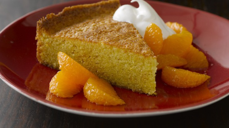 Orange-Scented Olive Oil Cake