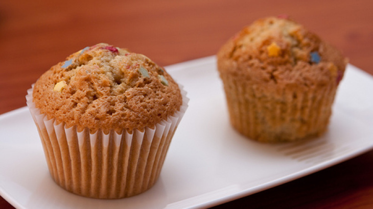 Orange & Date Muffins