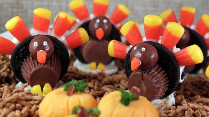 Oreo Cookie Turkeys