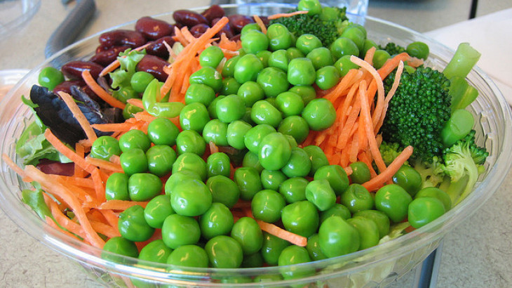 Pea Vegetable Salad (Christmas Relish)