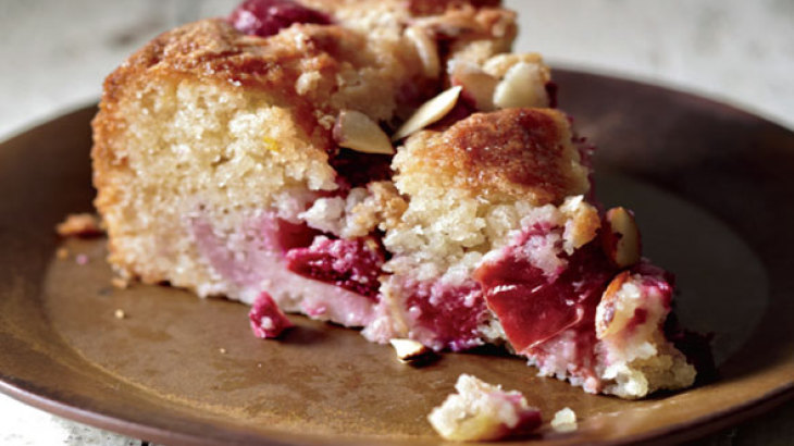 Plum Almond Cake Recipe