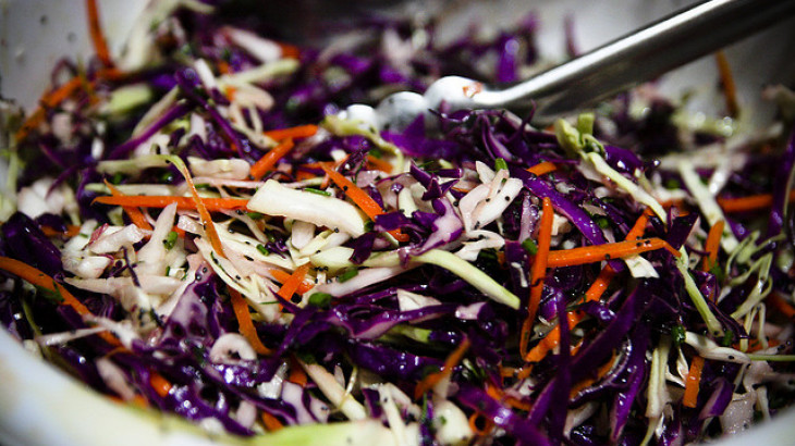 Rainbow Cole Slaw
